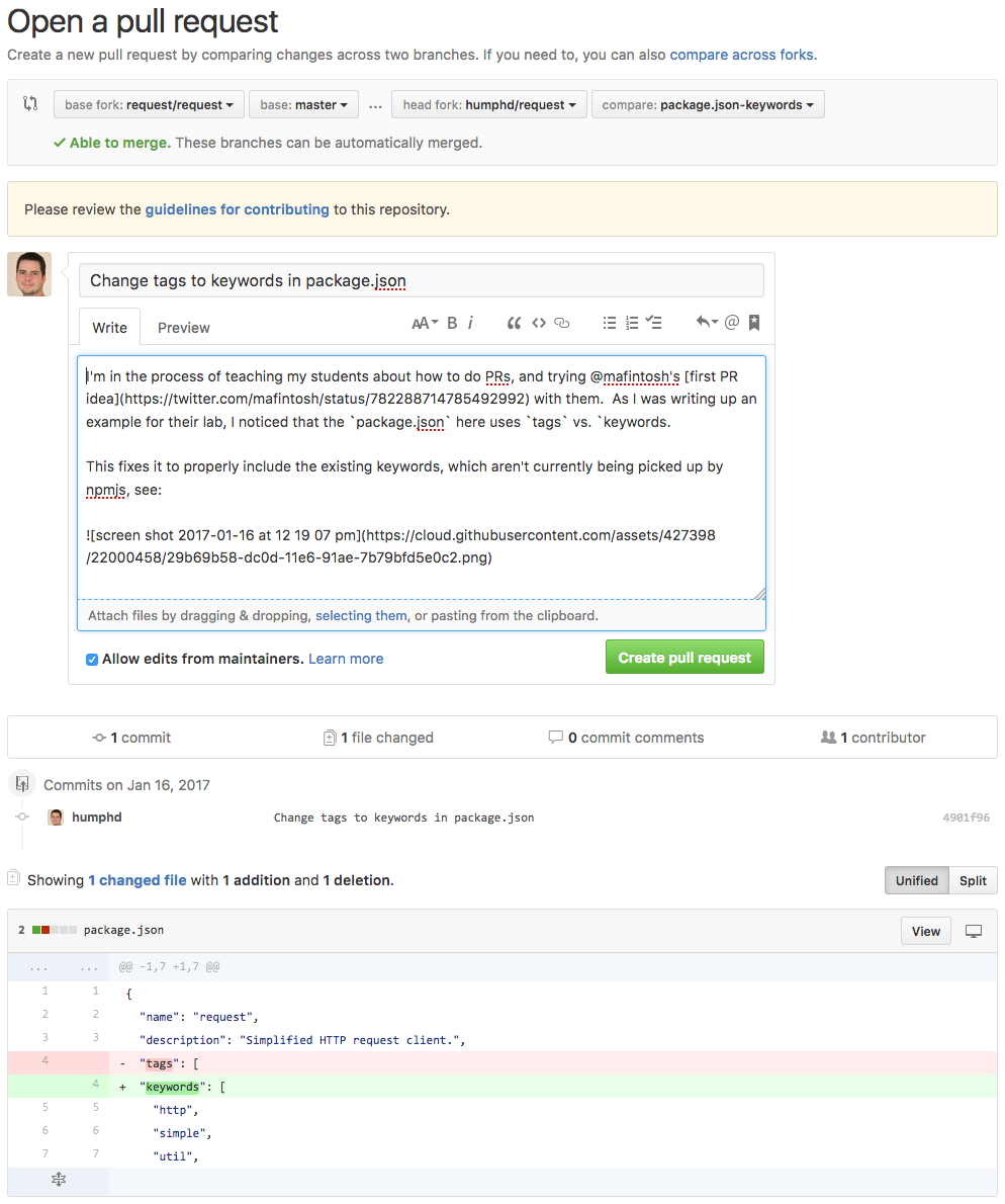 Your First Github PR - A Guided Tour